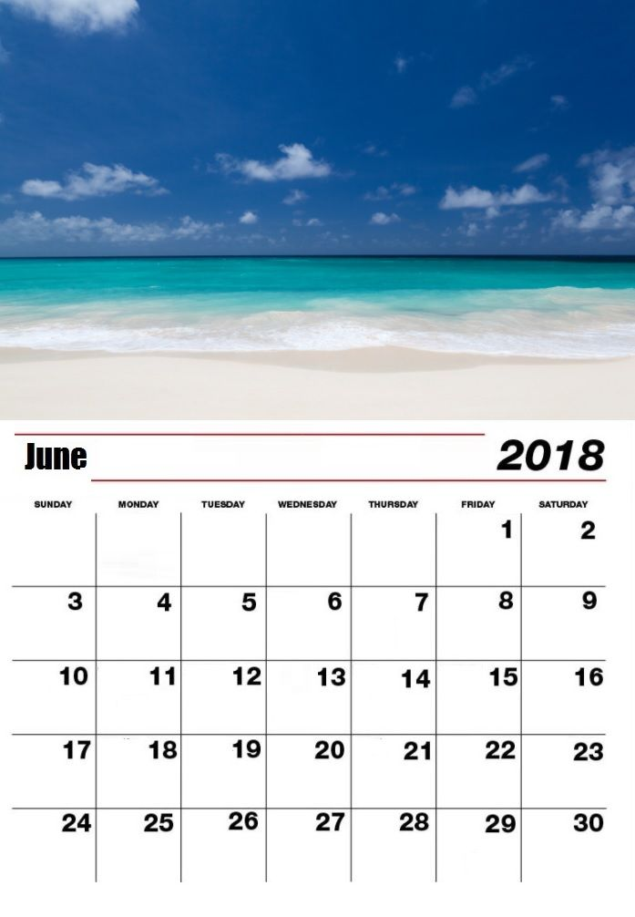 Pin by Ashok Singh on June 2018 Personlized Calendar