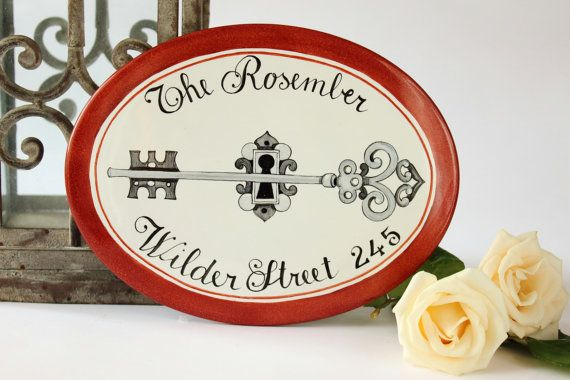 Elegant personalized Housewarming gift / Home Address Sign / Custom house sign/ New home gift sign