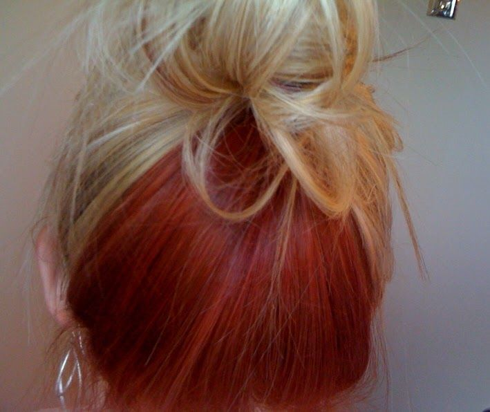 Best 25 Red Hair Underneath Ideas On Pinterest Res Hair