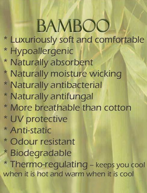 Is there an excuse not to buy a bamboo towel once you've seen these facts and figures? Bamboo towels can function as a: - sun protective wrap for the beach - a gym towel (antibacterial properties) - a baby blanket and so much more!