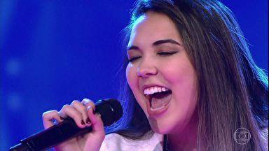 The Voice Brasil   Cammie canta 'Listen'   Globo Play