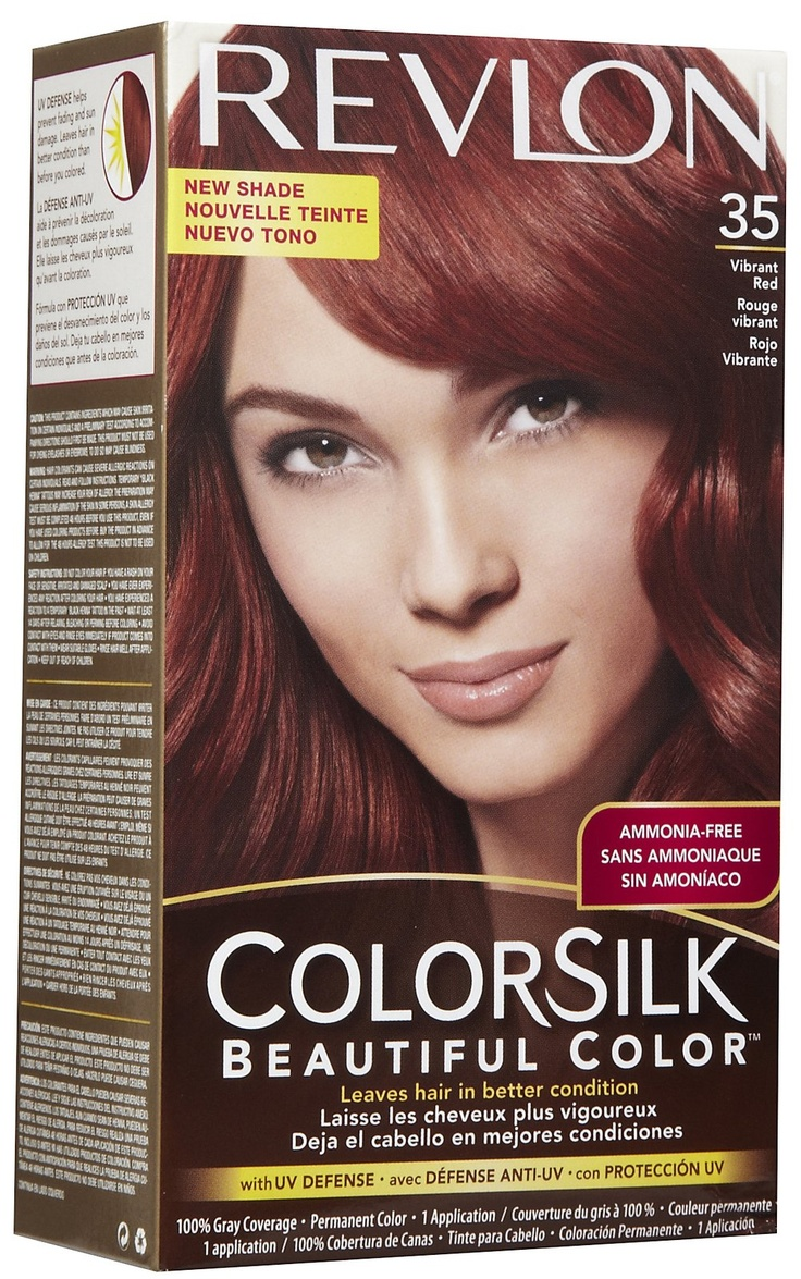Revlon Colorsilk Permanent Hair Color Vibrant Red Best