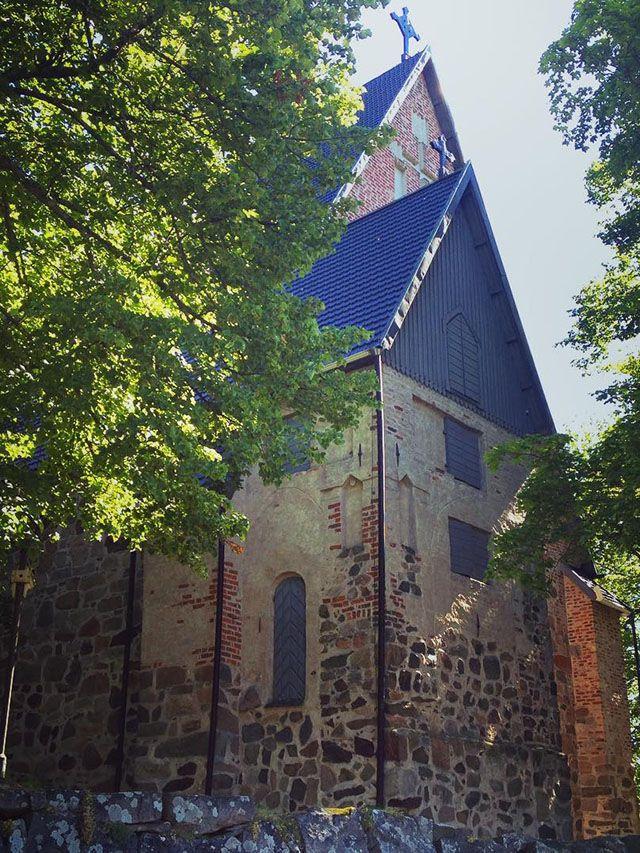St. Mary's Church in Turku, Finland