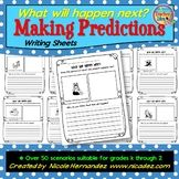 Predicting What Happens Next - Practice Writing Sheets