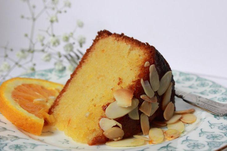 Almond Orange Flower Water Cake