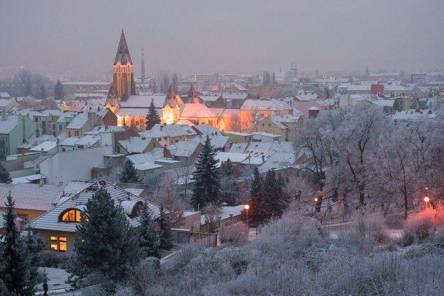 Zimní Brno