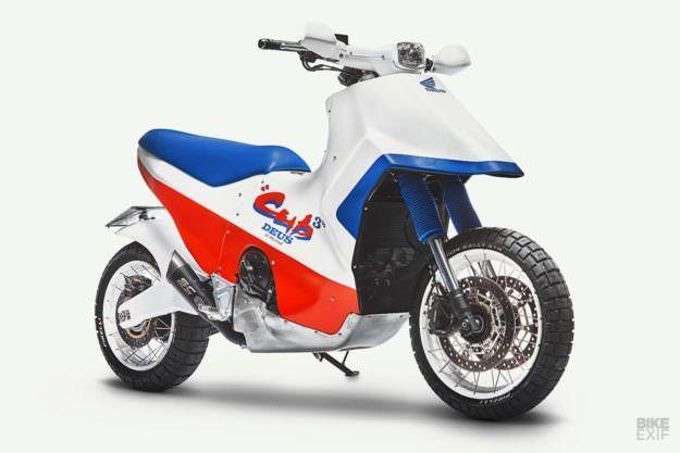 EZ Rider: Turning the Honda X-ADV into a Cub EZ 90 homage