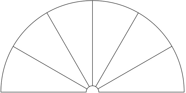 Dowsing Chart, 6 Pieces. You can use this picture to make your own Dowsing Chart, by adding any text or symbols you want.