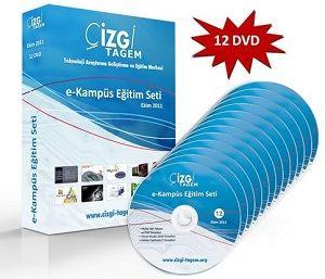 Çizgi Tagem Görsel Eğitim Seti - 12 DVD
