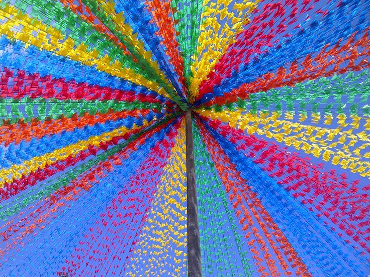 Colorful days - São João folk celebration in Brazil (Aracaju-SE)