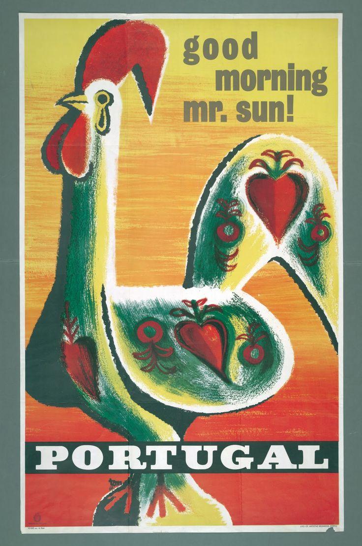 Design de Tom, 1964 Portugal, vintage travel poster