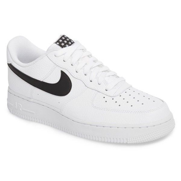 Men's Nike Air Force 1 07 Sneaker ($90) ❤ liked on Polyvore