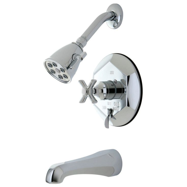 Kingston Brass VB46310ZX Tub/Shower Faucet, Polished Chrome - Price: $599.95 & FREE Shipping over $99