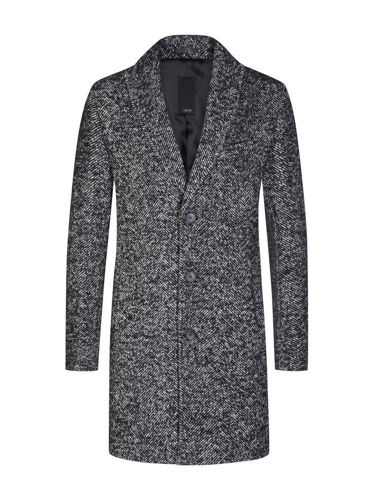 Cinque Mantel mit Spitzfasson grau – Hirmer Herrenmode #SALE #Hirmer #München #MensFashion #MensStyle #Fashion #Style #Mäntel #TrenchCoat