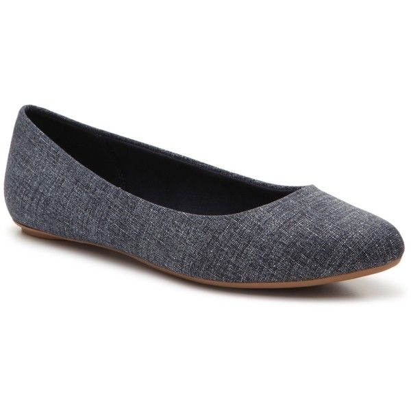 624d0ffbf Kelly & Katie Pirassa Ballet Flat Women's Shoes | DSW ($40) ❤ liked on  Polyvore featuring shoes, flats, kelly katie shoes, ballet pumps, skimmer  shoes, ...