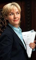 Being Amanda Burton - Telegraph