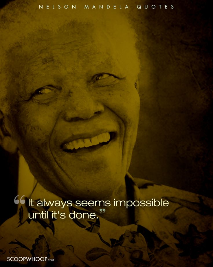 14 Inspiring Quotes By Nelson Mandela That Teach Us The Importance Of Dedication & Sacrifice