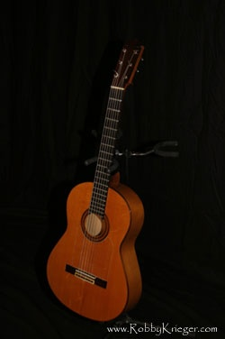 1963 Jose Ramirez flamenco - This is a real flamenco guitar. The wood is spruce from spain [very rare these days]. The guitar is so light you wouldn't believe it, and that makes it very loud.