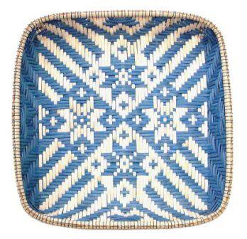 Snowflake Tray from BasketWeavingSupplies.com