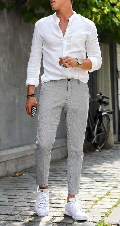 41+ Mens white button down shirt ideas ideas