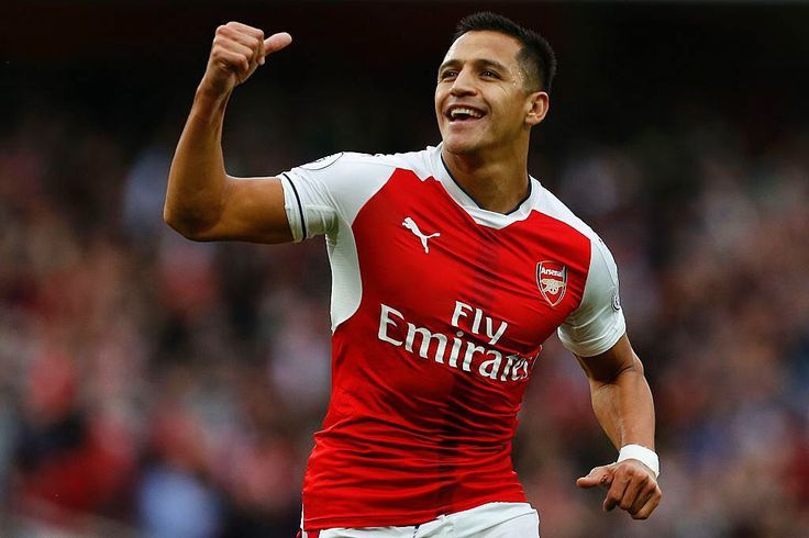 Alexis Sanchez will not leave Arsenal this summer. [Various]