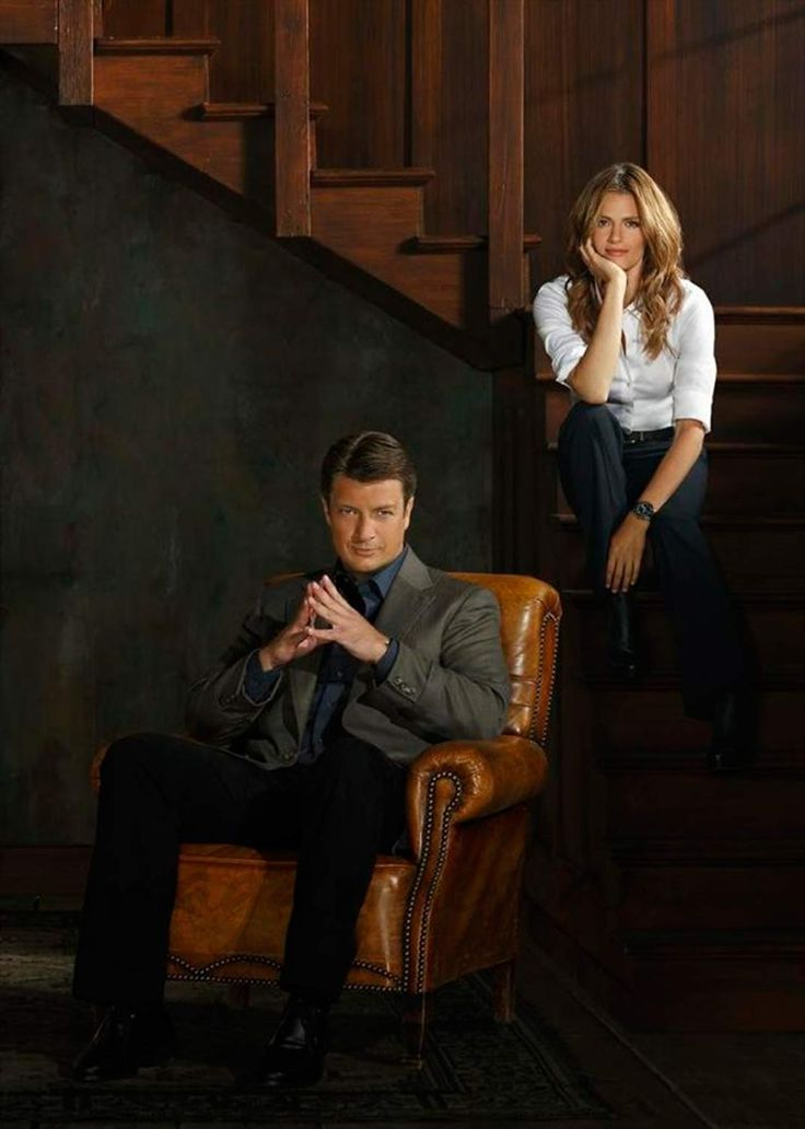 Stana Katic y Nathan Fillion - Castle - © ABC                              …