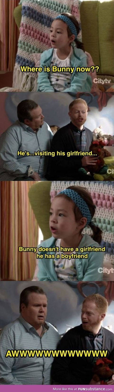 Pride..Love this show btw... Modern Family..