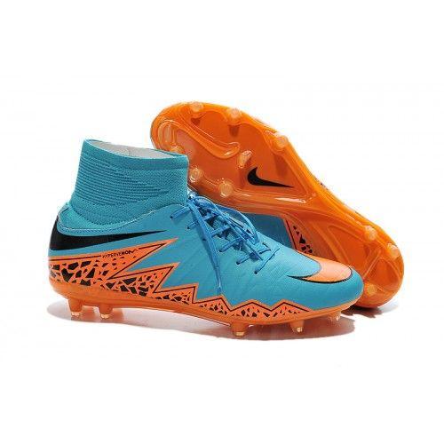 super popular 71871 0082e Nike Fotbollsskor Hypervenom Phelon II FG Herr Bla Orange