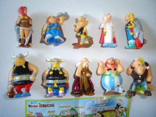 ASTERIX-THE-VIKINGS-2007-KINDER-SURPRISE-FIGURES-SET-FIGURINES-COLLECTIBLES