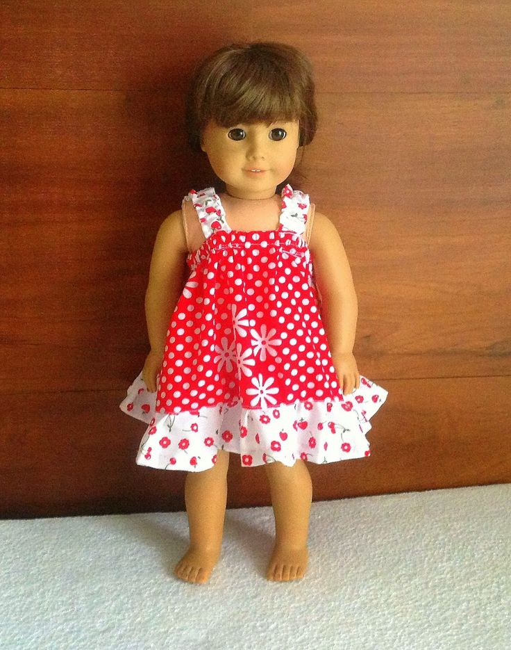602 best 18 inch doll clothes patterns images on Pinterest ...
