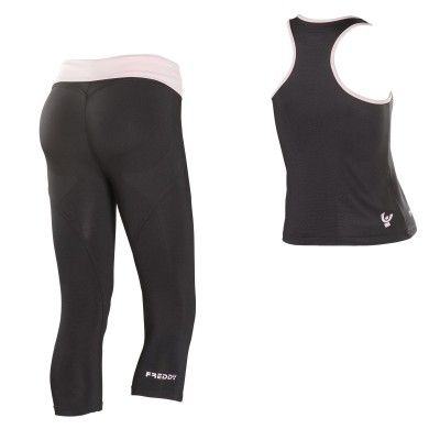#FW2013, #WRUP_Sport #Shaping_Effect, #Comfort, #Pedal_Pusher, #Free_Tank_Top, #Black_Pink #fitness #sport