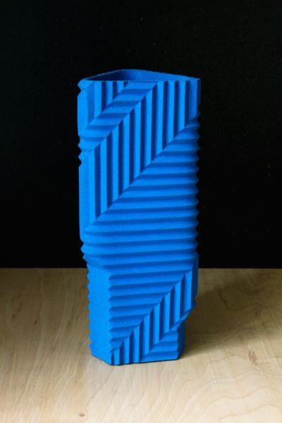 Herringbone vases : phil cuttance