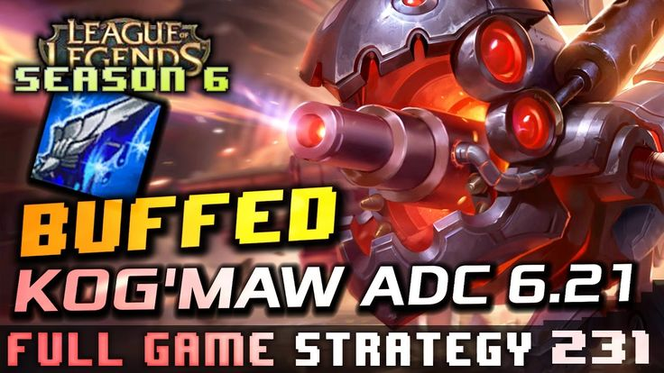 Marksman Kog'Maw what to look out for on the next patch. Ultimate Buffs Improved Muramana Synergy Bio-Arcane Barrage domination... while it lasts! https://youtu.be/aqOS7lPyI9s #games #LeagueOfLegends #esports #lol #riot #Worlds #gaming