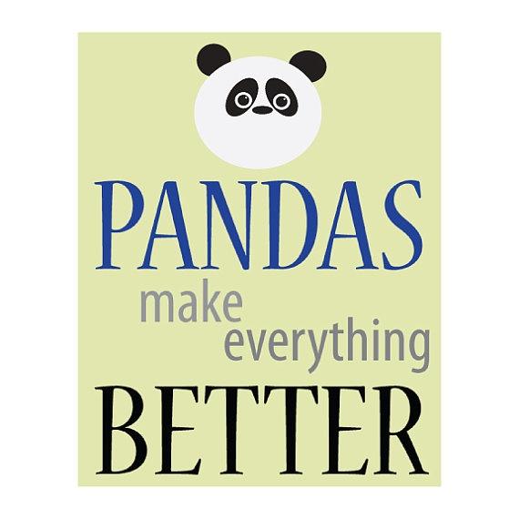 Pandas do make everything better!