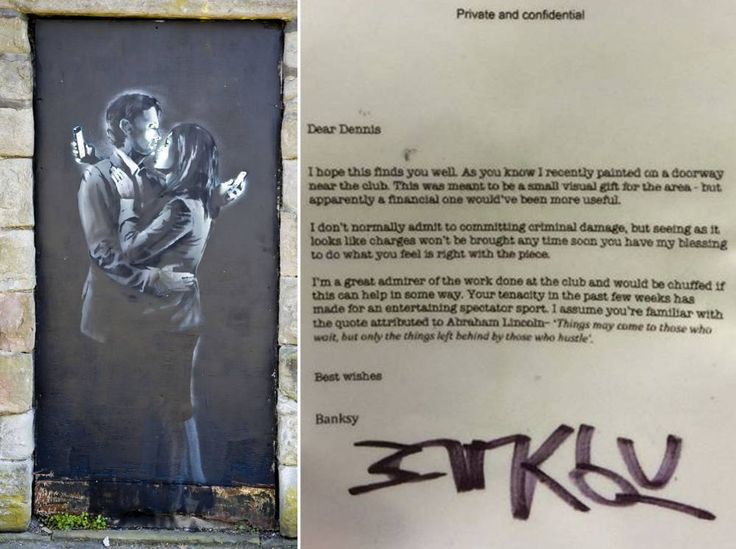 Hope this is true... 'Saviour' Banksy says youth club can keep Mobile Lovers