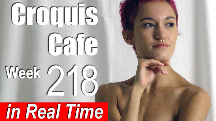 Croquis Cafe: Figure Drawing Resource No. 218