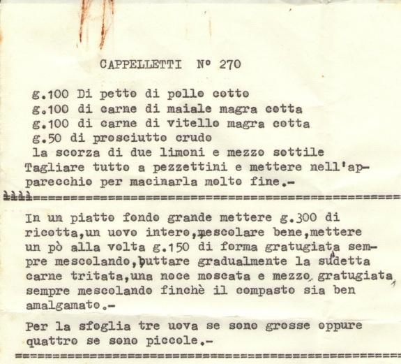 Cappelletti #Italy #Italia