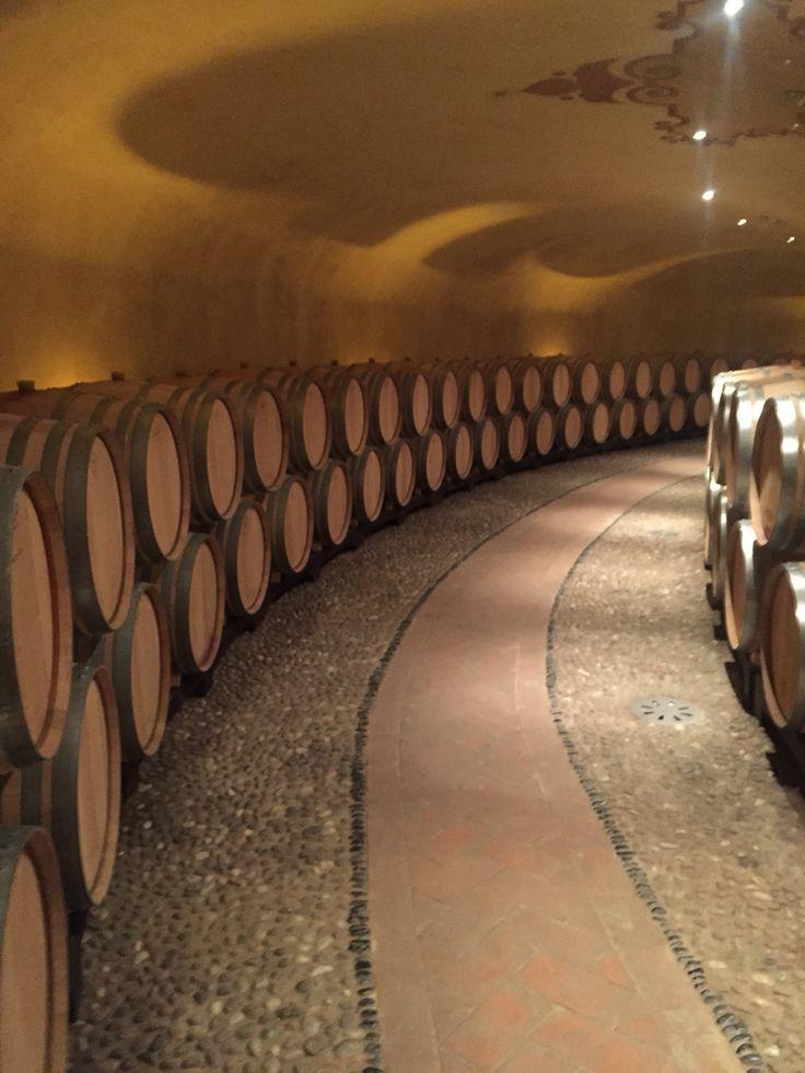 Ruffino wine cellar
