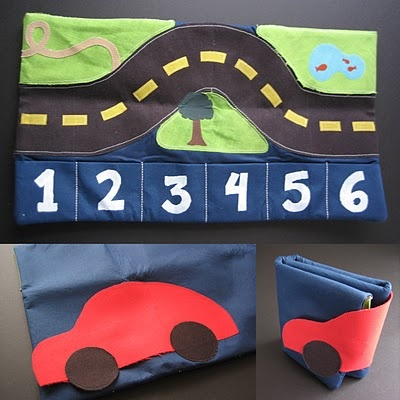 """A """"Car Caddy"""" for little toy cars."""