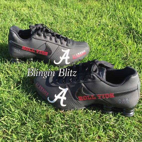 18ecfb85a38 Alabama Nike Shox Blingin Blitz Jordan Shoes For Boys Size 2