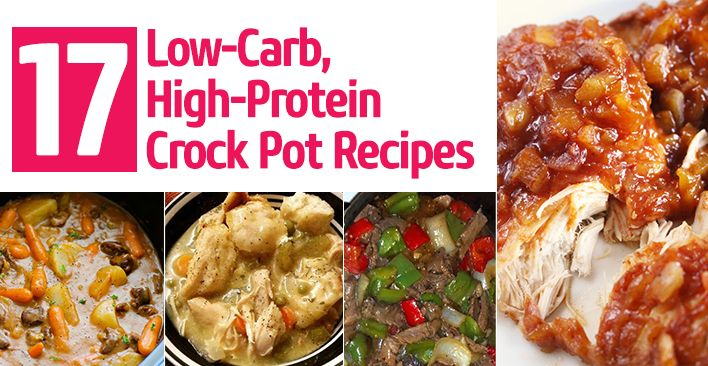 high protein low carb recipes pdf