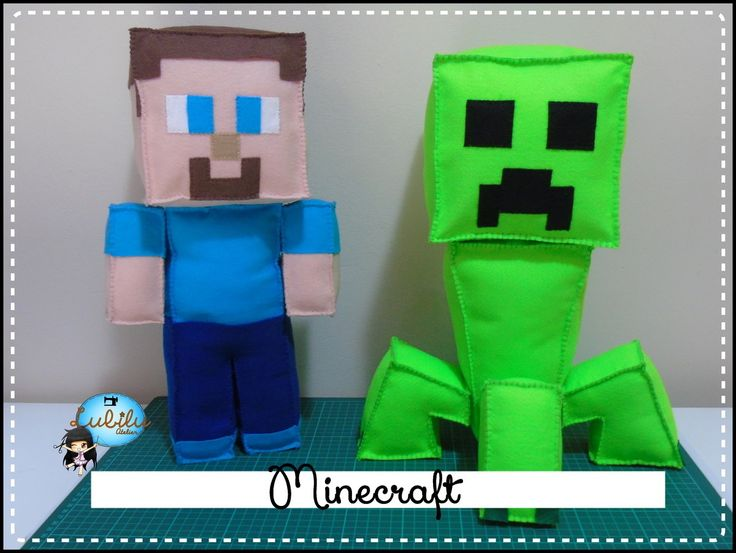 Minecraft Bonecos - Kit
