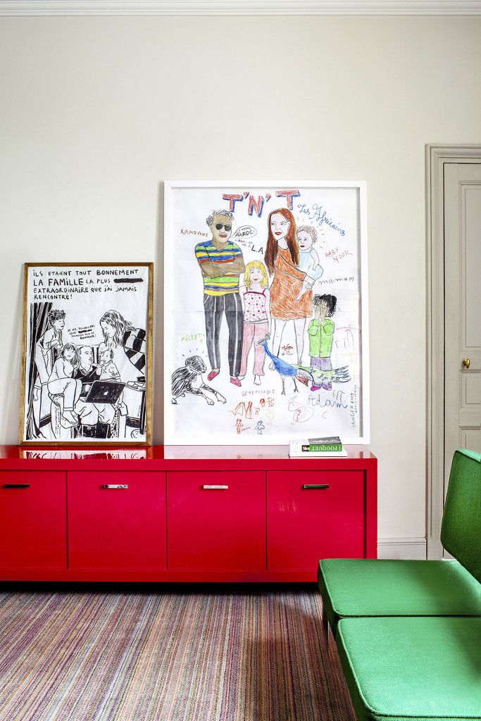 inspiring accessories and diy art in victorie de taillac and ramdane touhamis home as seen by