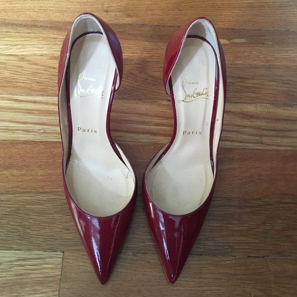 Red Christian Louboutin pumps Authentic red Christian Louboutin pumps. Size 36. In like new condition. No trades or low ball offers. Christian Louboutin Shoes Heels