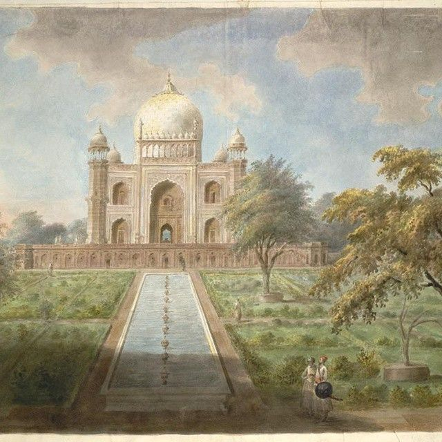 Safdarjung Tomb Artist Rendition Historical Monuments Travel