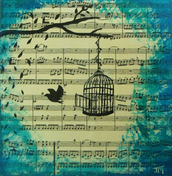25 Best Ideas About Christmas Sheet Music On Pinterest: 25+ Best Ideas About Bird Cage Tattoos On Pinterest