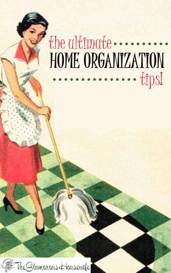 Are you looking for amazing home organization tips? Well look no further! Here are all of the best tips & tricks I have written about on The Glamorous Housewife. This is perfect for getting your home organized in the new year!