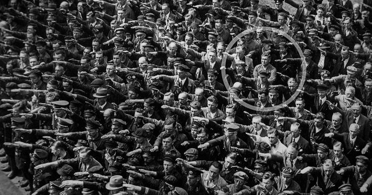 August Landmesser was 26 years old and engaged to a Jewish woman when he defied the Führer.