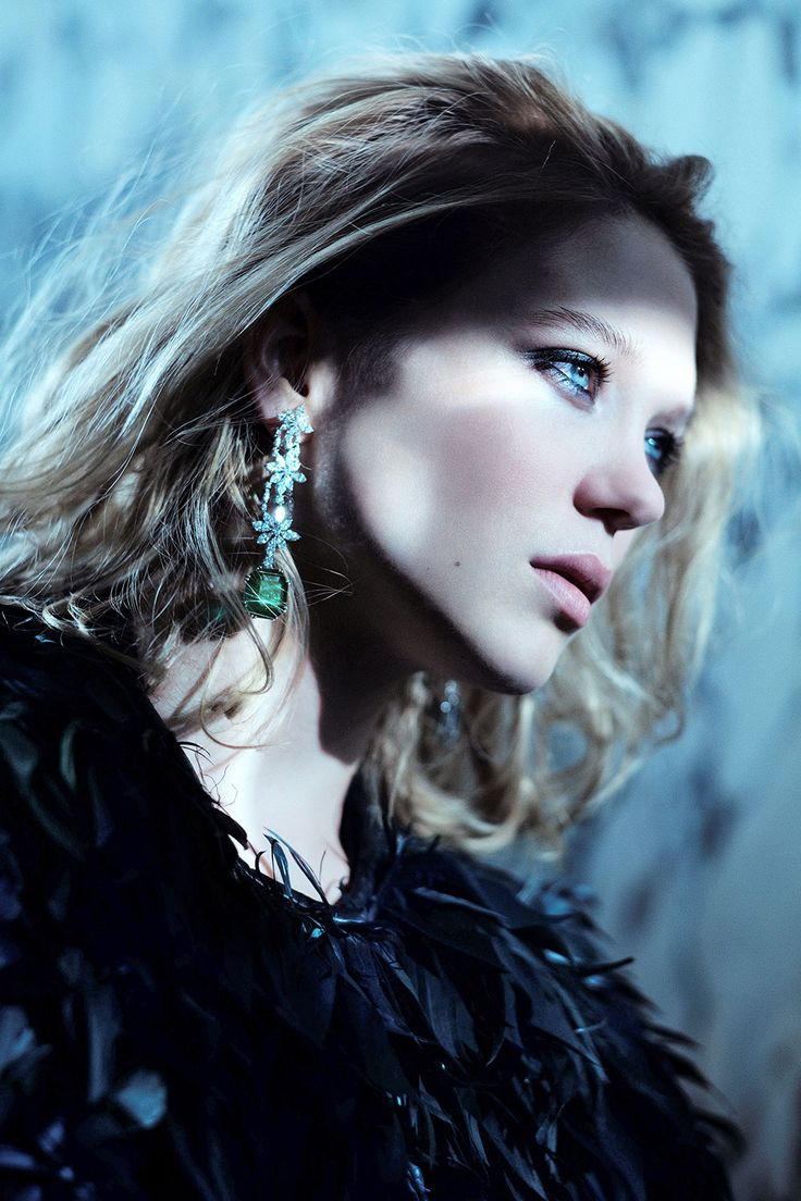 Léa Seydoux in a photoshoot for Madame Figaro, April 2015, by Mathieu Cesar