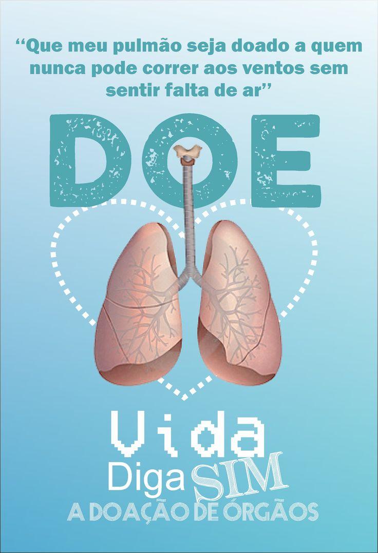 Campanha faculdade Doação de Orgãos, #design #grafico #facudade #doacao  #orgao #+amor